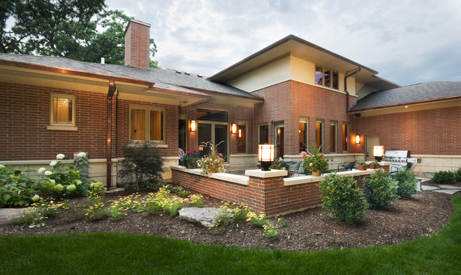 Traditional Exterior by Studio 1 Architects