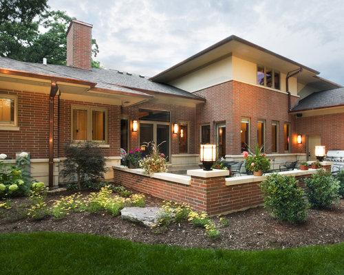 Face brick home design ideas renovations photos for Face brick homes