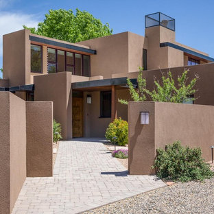 75 most popular southwestern exterior home design ideas - Southwestern home design and remodeling ...