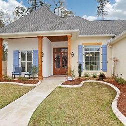 New Orleans Traditional Shutters Exterior Design Ideas