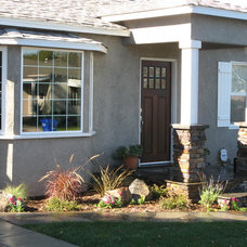 Traditional Exterior by JD Simmons Design + Construction