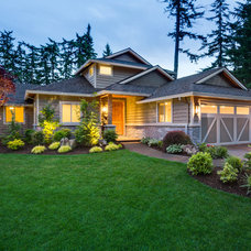 Traditional Exterior by Cornerstone Construction Services LLC