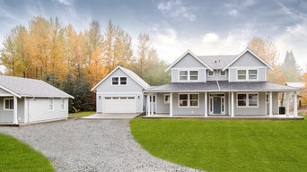 Ladysmith Custom Home with Carriage House