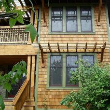Traditional Exterior by Arlene Warda, Architecture+Interior Design
