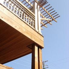 Traditional Exterior by Arlene Warda, Architect
