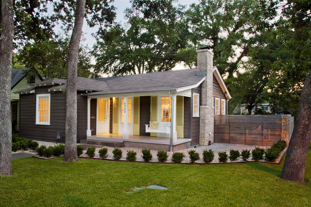 Modern Exterior by Texas Construction Company
