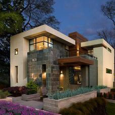 Contemporary Exterior by Cablik Enterprises
