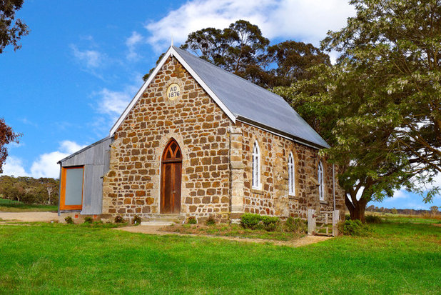 Roots of style how did your rural australian home get its for Church exterior design