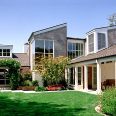 Transitional Exterior by Sutton Suzuki Architects