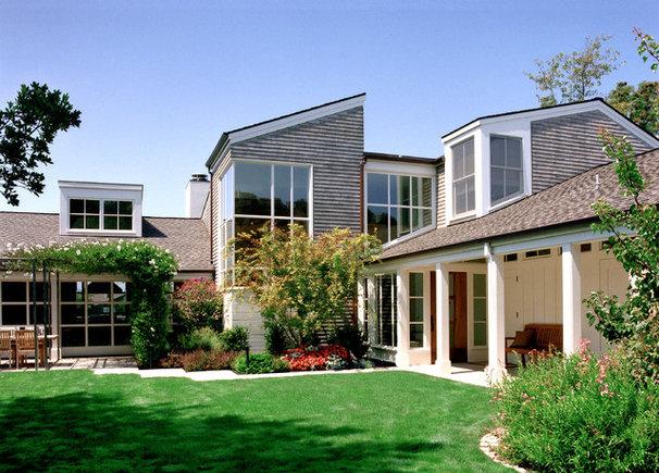 Transitional Exterior by Sutton Suzuki Architects