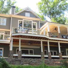 Traditional Exterior by Custom Dwellings
