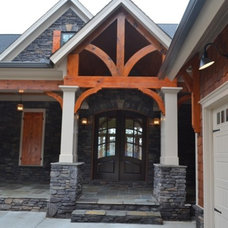 Traditional Exterior by Precision Homes of Canton, Inc.