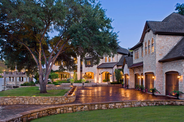 Traditional Exterior by Geschke Group Architecture