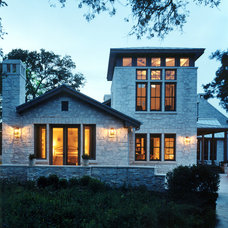 Traditional Exterior by Steinbomer, Bramwell & Vrazel Architects