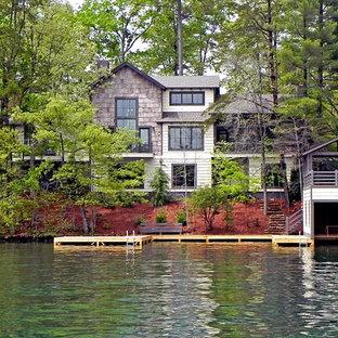 Mittelgroßes, Drei- oder mehrstöckiges Rustikales Haus in Atlanta
