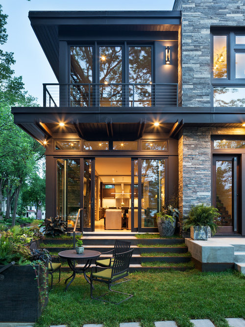 Modern exterior design ideas remodels photos for Small house outer design