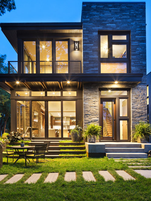 1,464 Small Modern Exterior Home Design Ideas & Remodel Pictures