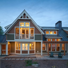 Traditional Exterior by Battle Associates, Architects