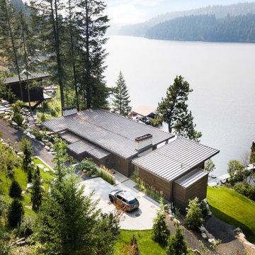 Lake Coeur d'Alene Custom Home