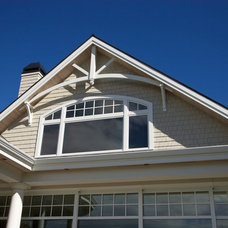 Traditional Exterior by Hewitt Designs