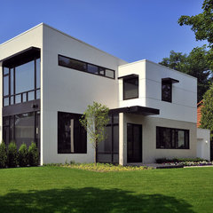 contemporary exterior by Lake Country Builders