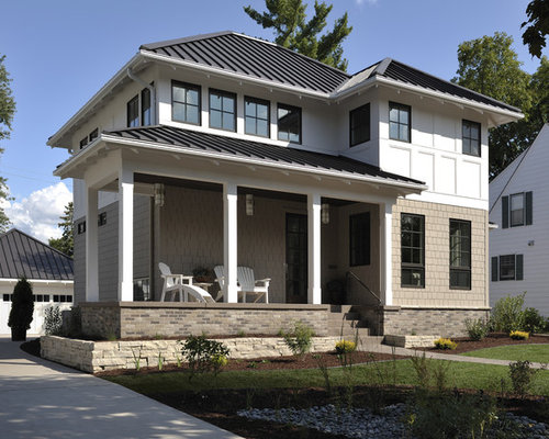 Hip roof houzz for Color roof design