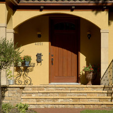Mediterranean Exterior by Lake Country Builders