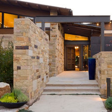 Contemporary Exterior by Krueger Architecture & Design
