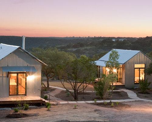 Foto e idee per facciate di case facciata di una casa in for Miglior piano casa del ranch di sempre