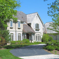 Traditional Exterior by Fieldcrest Builders Inc