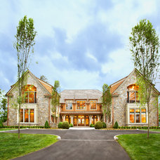 Traditional Exterior by Markalunas Architecture Group