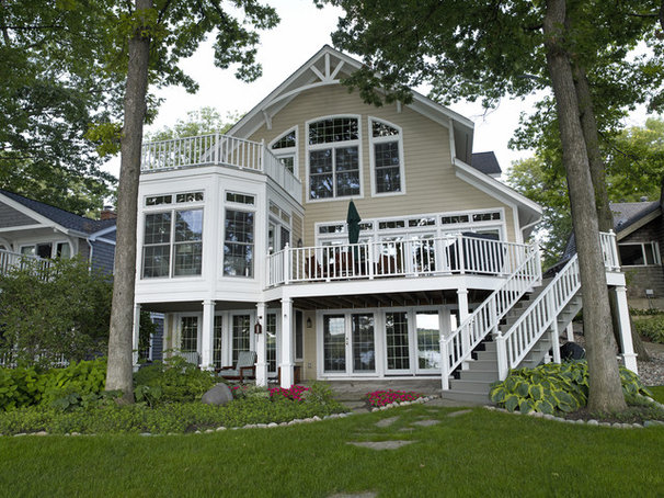 Traditional Exterior by Stebnitz Builders