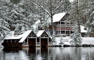 30 sneklædte huse får os til at drømme om hvid jul