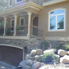 Contemporary Exterior by ARCH-AIDE,LLC Architects