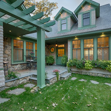 Traditional Entry by Bergland + Cram Architects