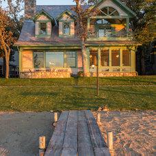 Beach Style Exterior by Bergland + Cram Architects