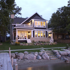 Traditional Exterior by Bergland + Cram Architects