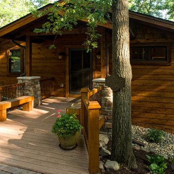 Lake home remodel