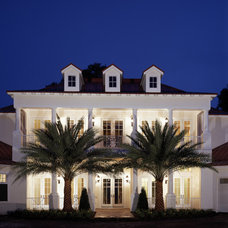 Traditional Exterior by The Evans Group