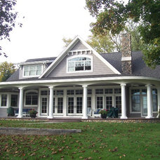 Traditional Exterior by Milestone Construction, Inc.