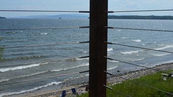 Lake House Balcony