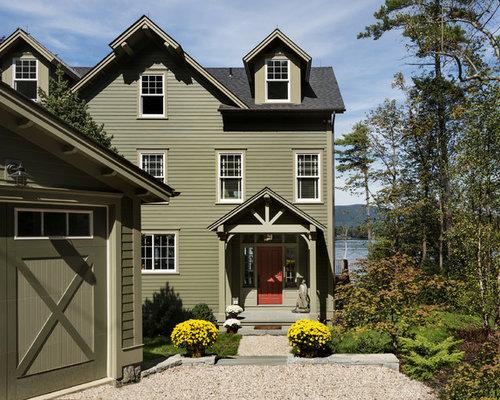 Marvelous Houzz Mint Green Exterior Paint Design Ideas Remodel Pictures Largest Home Design Picture Inspirations Pitcheantrous