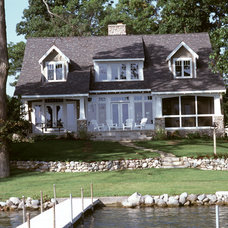 Traditional Exterior by Demerly Architects
