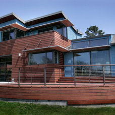 Contemporary Exterior by Sherman Architecture