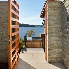 Modern Exterior by McClellan Architects