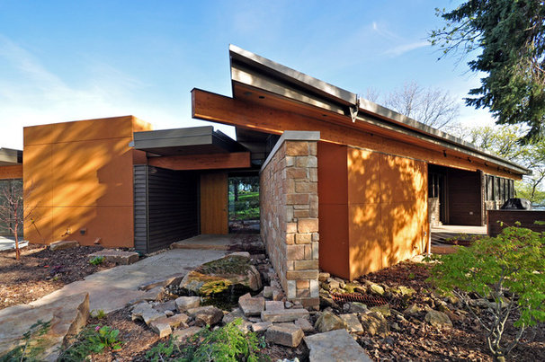 Contemporary Exterior by GMK Architecture Inc