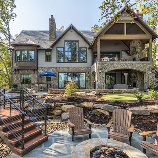 Lake Keowee, SC Custom Home Exterior