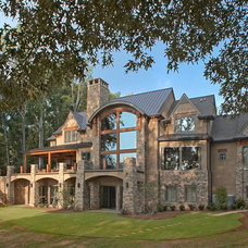 Rustic Exterior by The Norwood Group