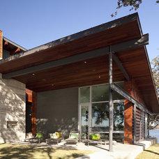 Contemporary Exterior by Dick Clark + Associates