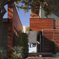Contemporary Exterior by Dick Clark + Associates